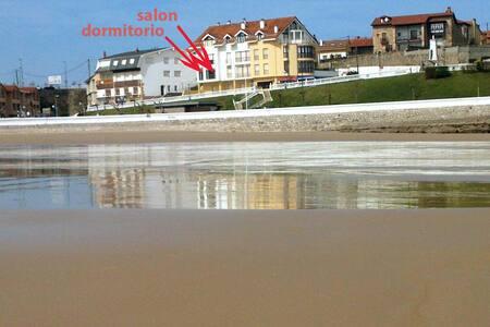 Apartamento con terraza en la playa - Comillas - Wohnung