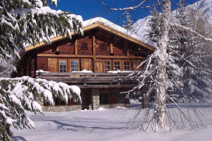 Chamonix authentique savoy cl 4* vue proche pistes - Chamonix-Mont-Blanc - House