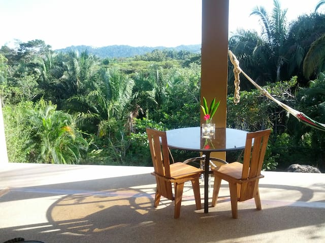 TROPICAL HOME-2 bdrm w jungle view - Esterillos Oeste - Huis