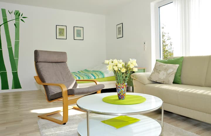 "Gästeappartement ""Zimmergrün"" - your green oasis"