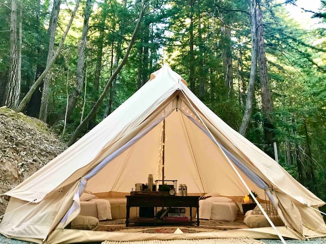 Glamping Tent for Four