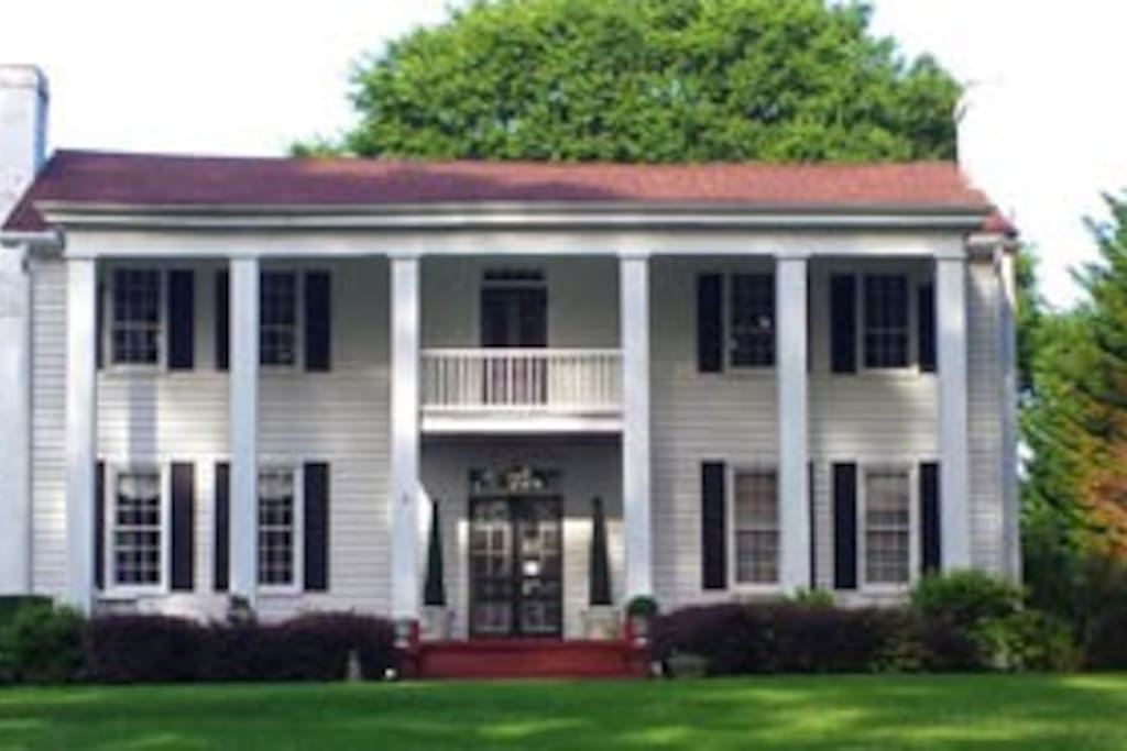 Built in 1838, House on the Hill is a historical home in Jacksonville AL