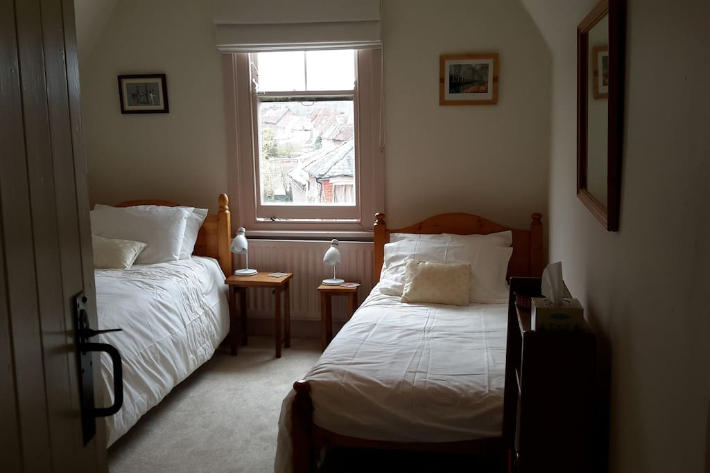 Our twn bedded room