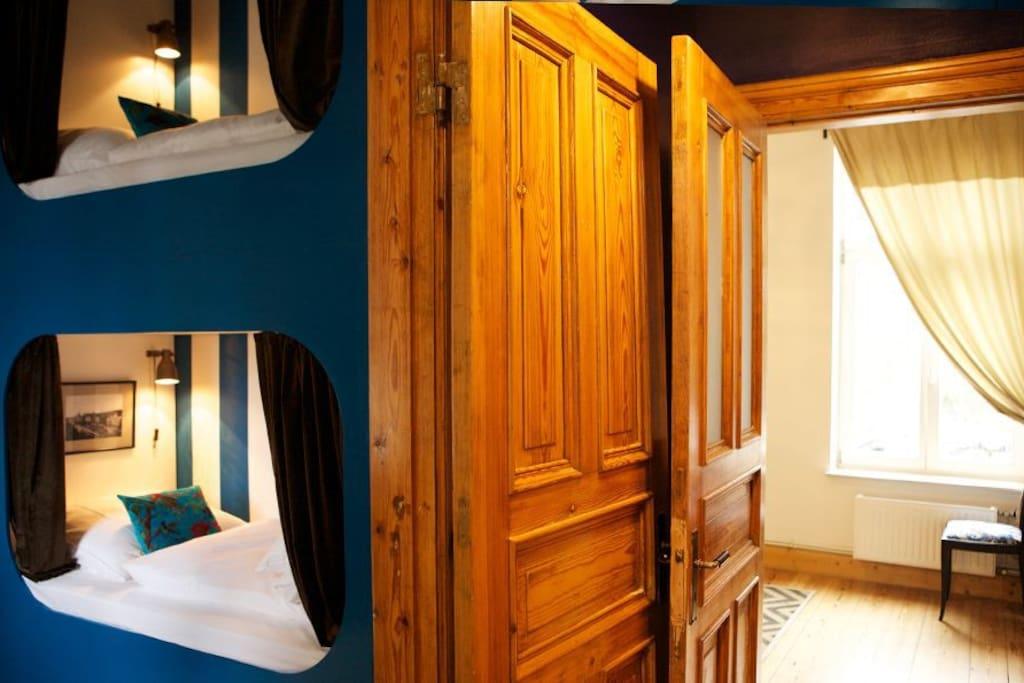 Blick ins Hanoi-Zimmer   2th floor