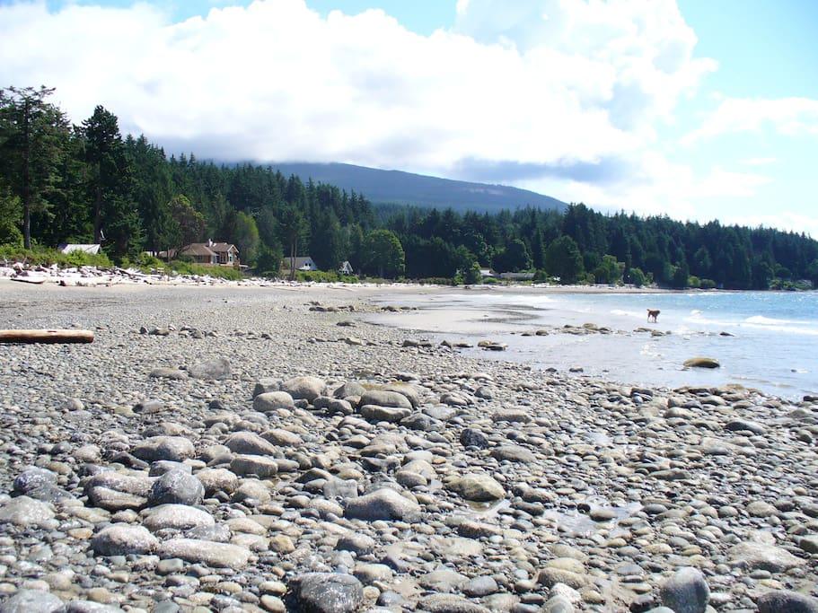 Roberts creek Beach