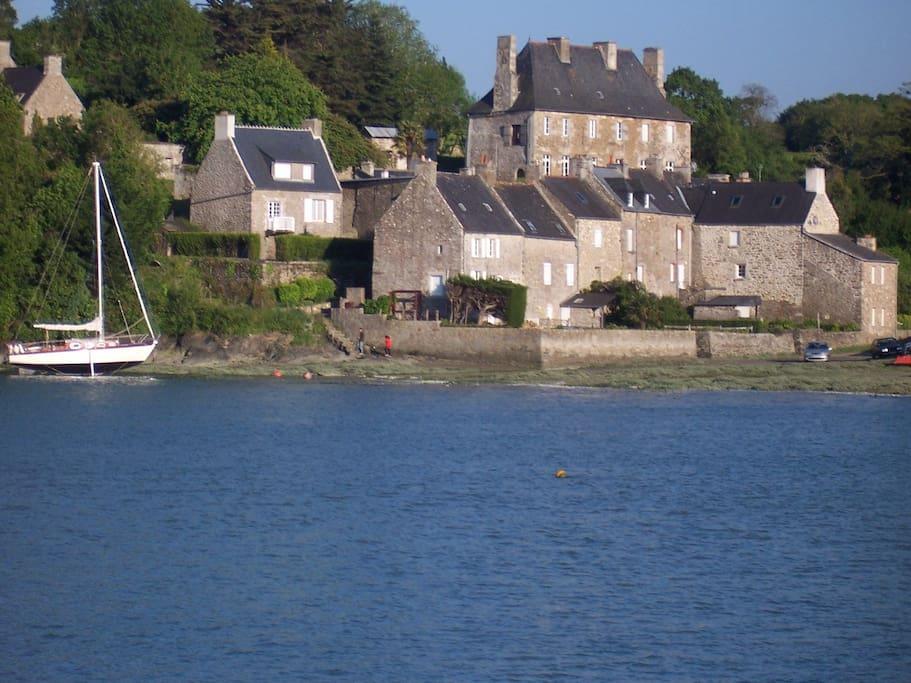 le hameau du port du guildo 50 m de la villa marée haute