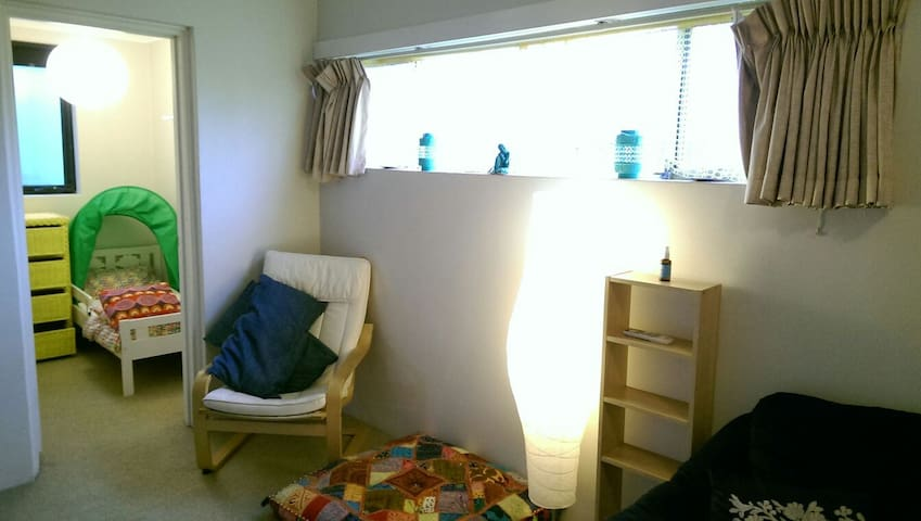 Child's bedroom with snuggly tent bed