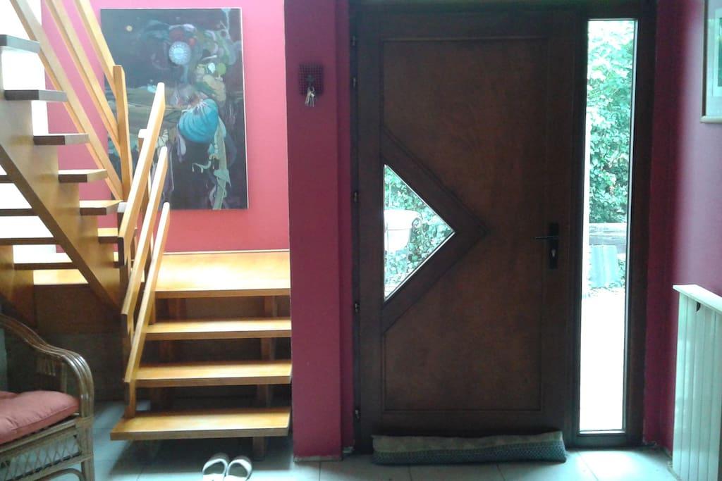 hal principale + accès étage