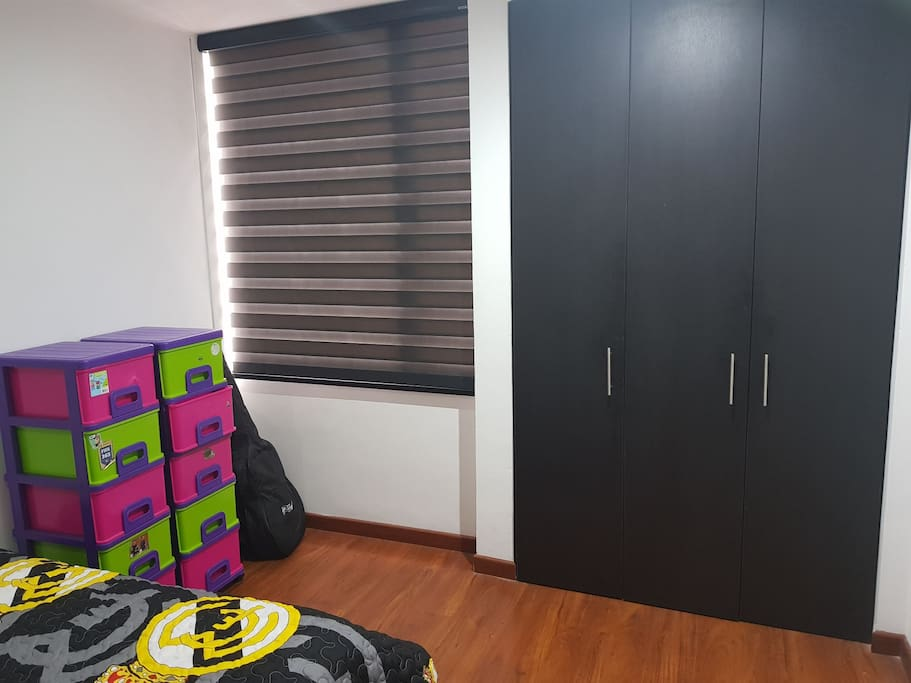 we have sufficient space for all the things that you need to put inside your room. so you can enjoy your time in bogota the most.
