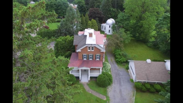 Historic Home with Observatory tour