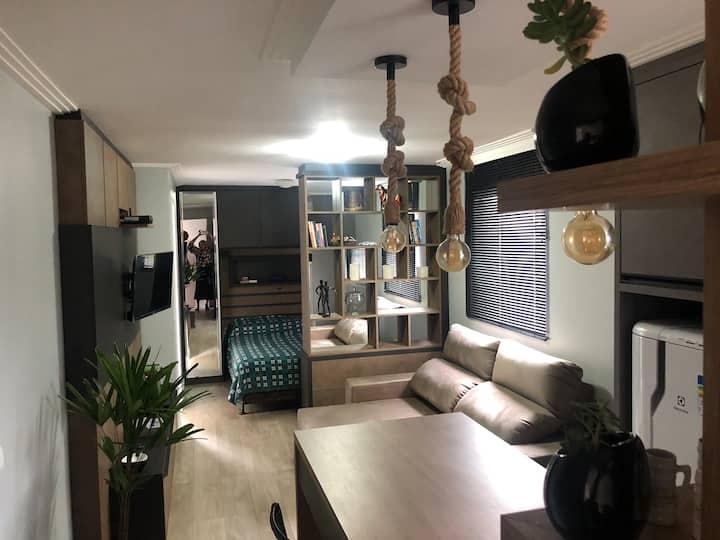 Studio de luxo no Cabral.