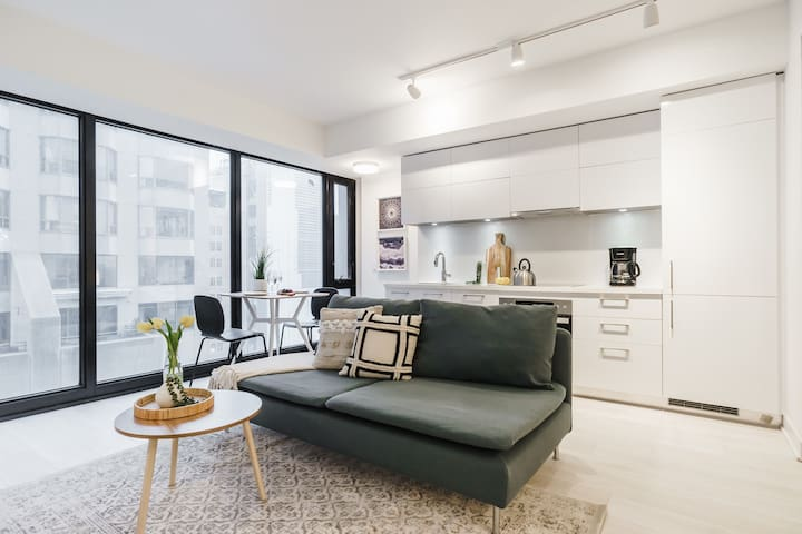 Luxurious 1 Bedroom YORKVILLE Condo
