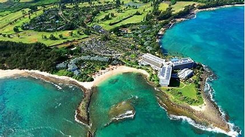 Quiet romantic island getaway