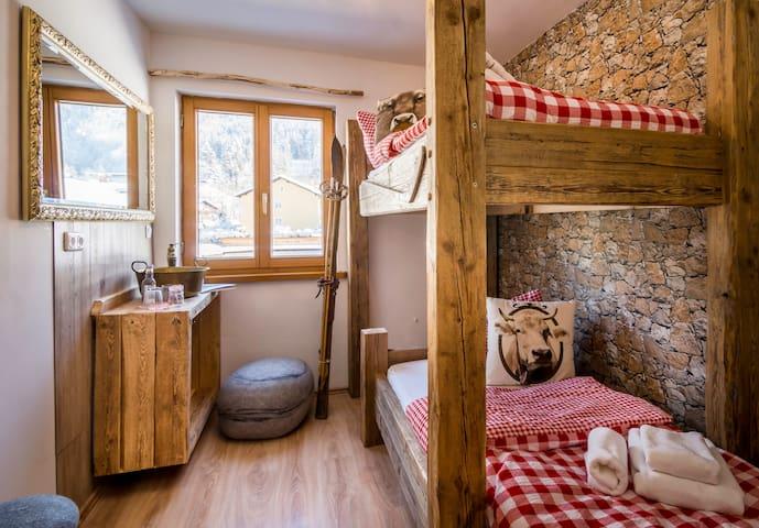 Springer Stube Zimmer (2), Zur glücklichen Kuh - Oberstdorf - House
