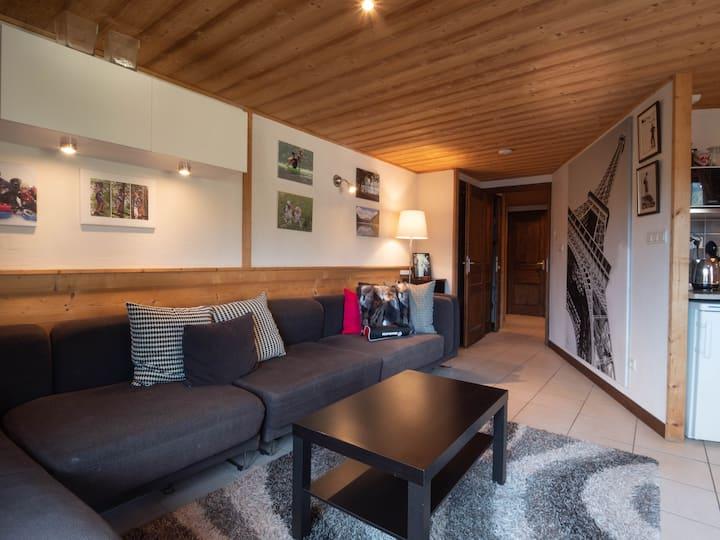 Essert-Romand Apartment, 8 min from Morzine