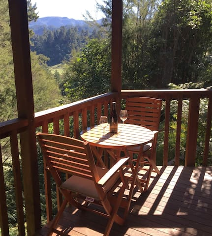 Small Double room with ensuite,in bush Abel Tasman