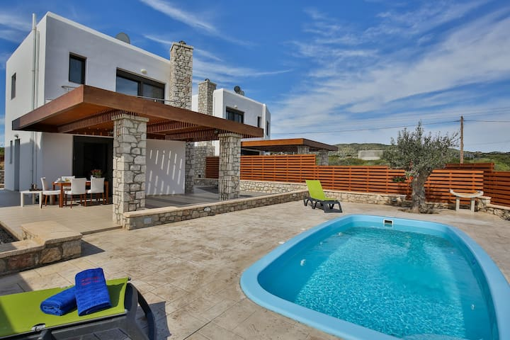 Rhodes Beach Villa with private beach access - Rhodos - Haus