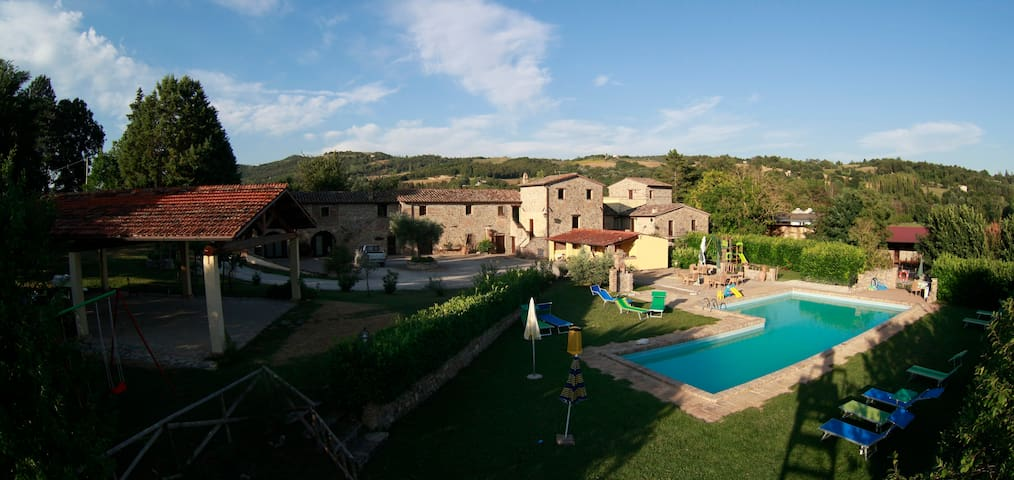 Magic Apartment With pool - Castagno - Corlo - Huoneisto