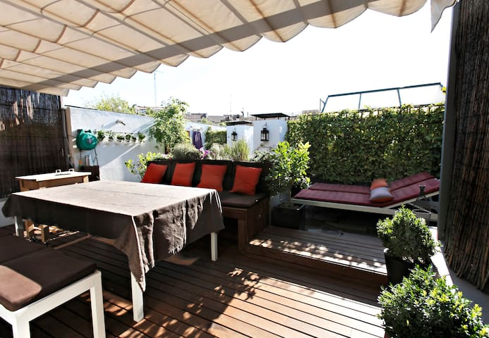 Superbe appartement avec terrasse  - Madrid - Appartement