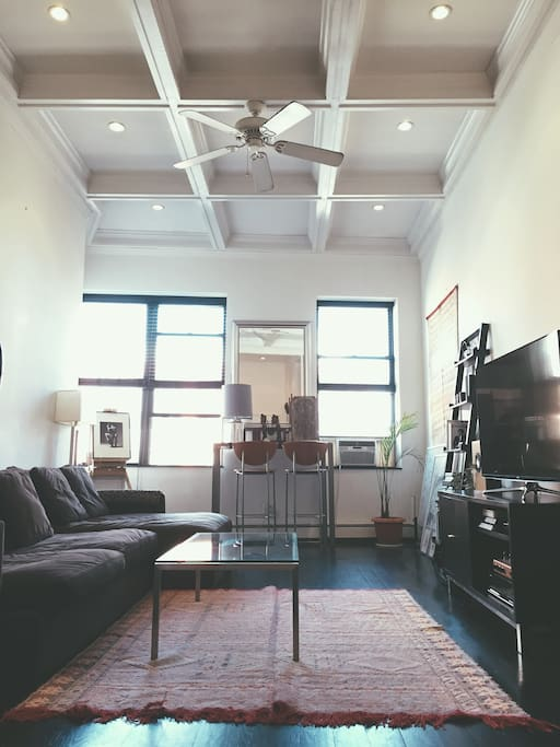 1 Bedroom + sleep loft in the heart of NoHo. Great location