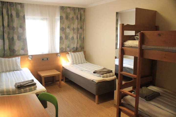 Private room for family in hostel - 4 Beds