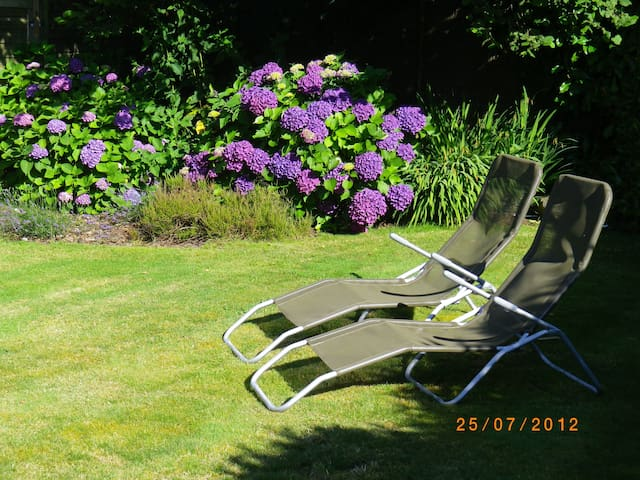 Relaxation in the garden