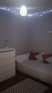 Habitación en apartamento, terrazas,zona tranquila