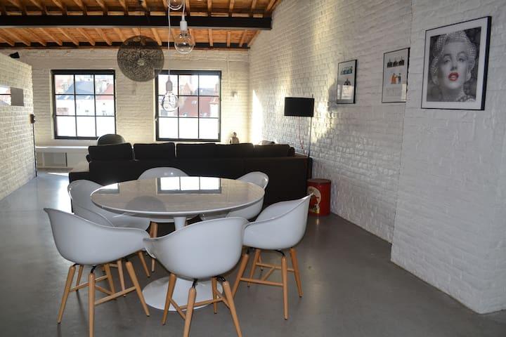 EXCEPTIONAL loFt PentHOUSE +Terrace - Bruxelles - Apartemen