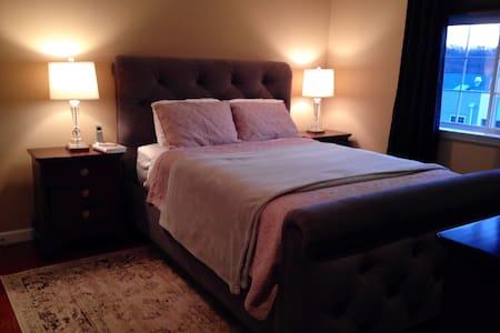 Cozy Master Bedroom w Private Bath