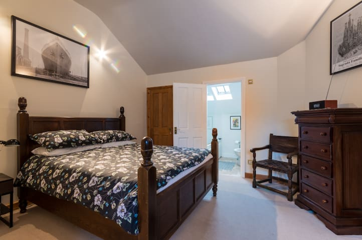 Large en suite room in converted Cotswolds chapel