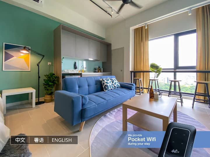 Modern Cozy Studio @ Tamarind Suites Cyberjaya