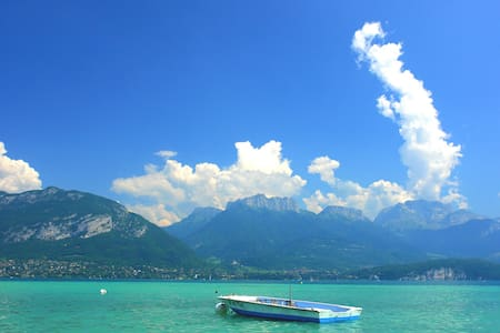 Studio au calme proche Annecy , lac et commerces - Haute-Savoie