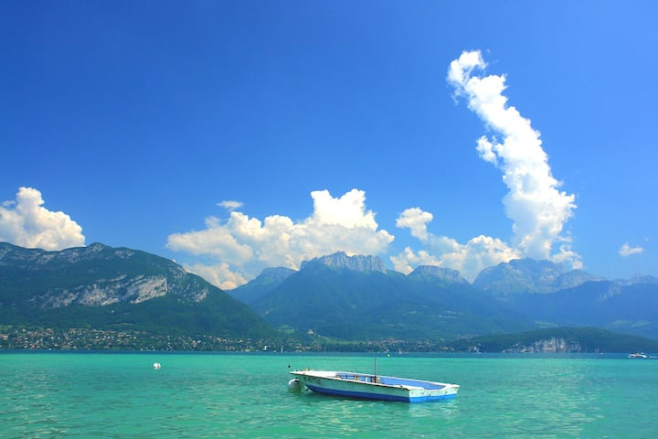 Studio au calme proche Annecy , lac et commerces