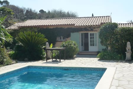 Charmant cottage jardin piscine - Mougins