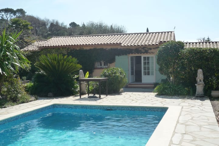 cottage in Mougins with private swimming pool.