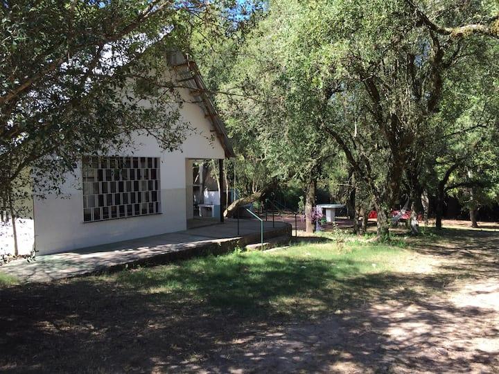 Cabin in the River Yi Durazno
