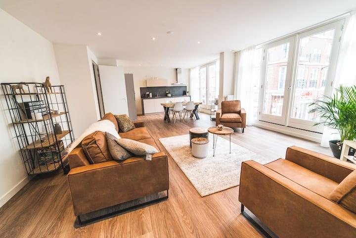 Stadslogies centrum Leeuwarden app A 2 slaapkamers