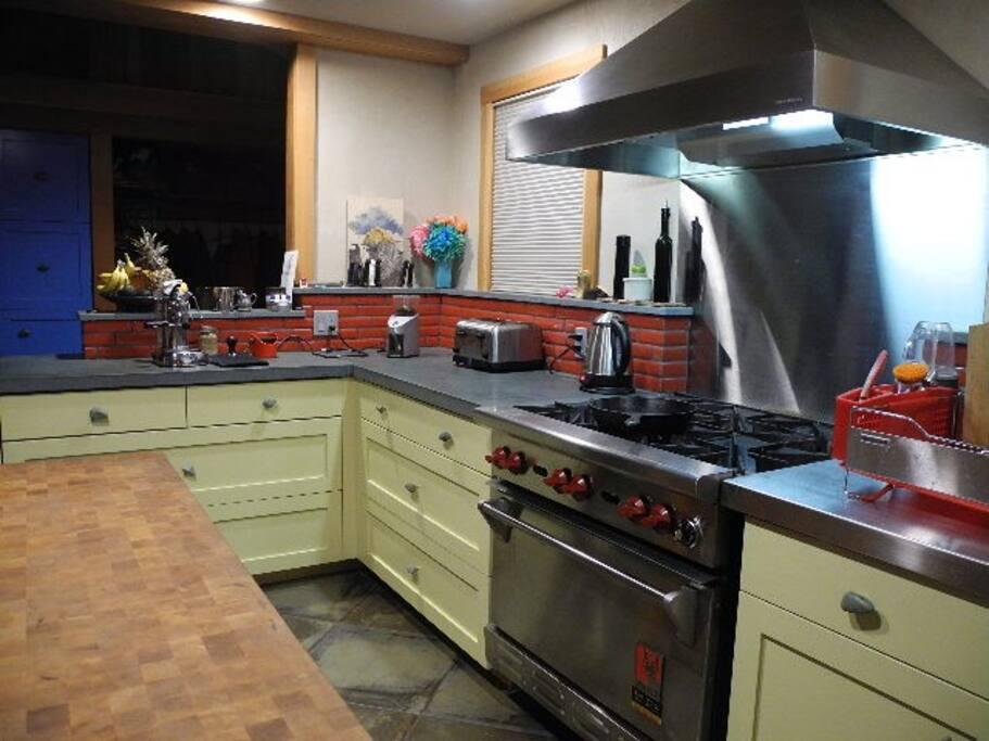 Cooks kitchen