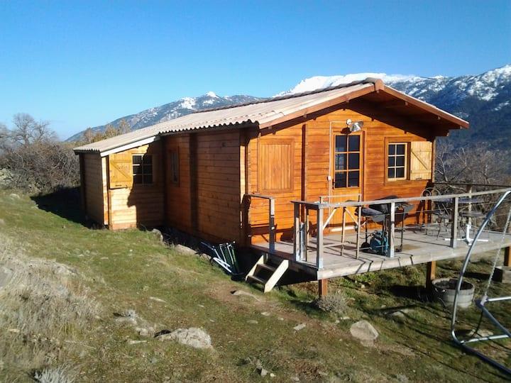 «Monte Cintu chalet confortable, cadre magnifique