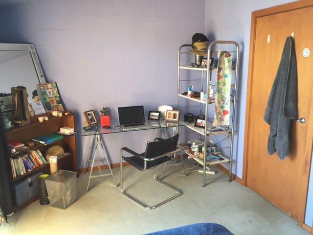 Bedroom comes furnished or unfurnished