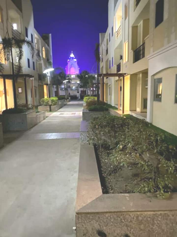 1bhk Flat for stay in Vrindavan at prime location