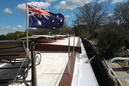 Rooms in Luxury Barge - Avignone - Barca