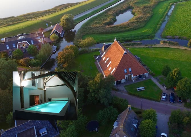 New Comfortable apartment in renovated farmhouse.