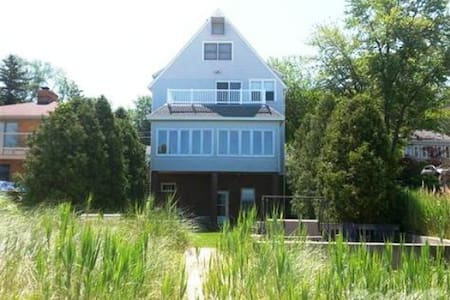 Fab Beach Home 1.5 hrs from Chicago - Long Beach