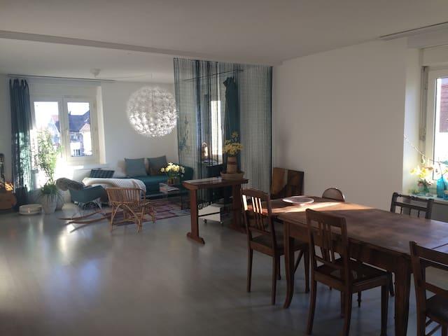 Hübsches Zimmer mit Bad und Balkon - Thalwil - อพาร์ทเมนท์