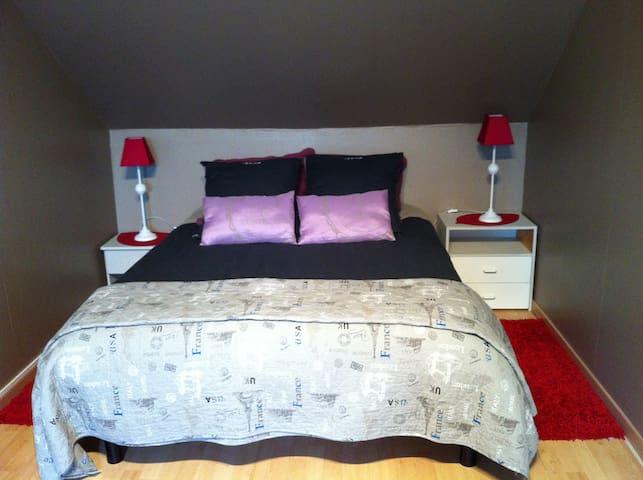 Chambre familiale de 20 m2 - Magny-le-Hongre - Casa