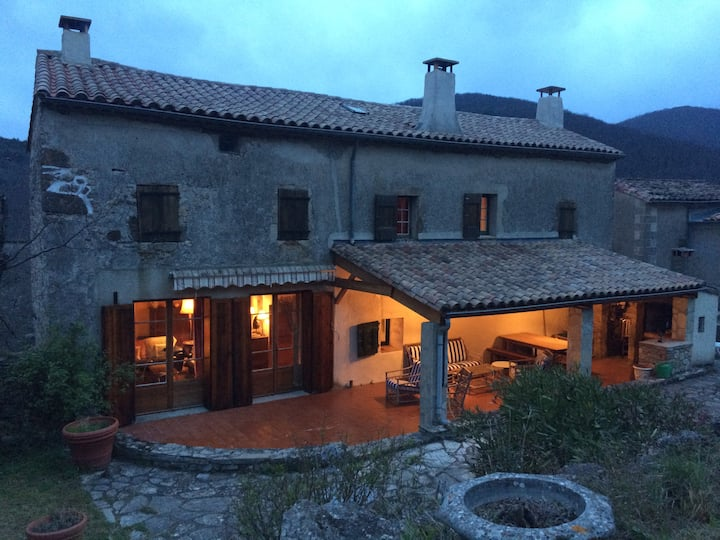 Four bedroom house in the Cevennes