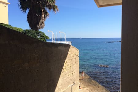 Siracusa, bigflat and private beach - Syracuse - Leilighet