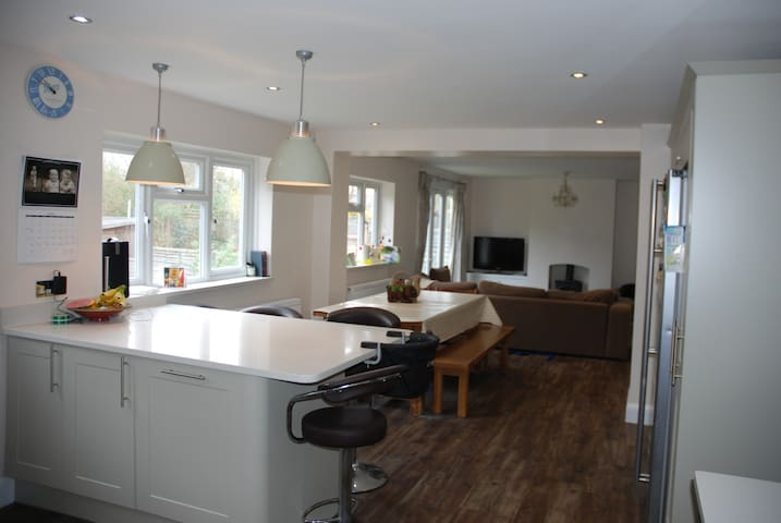 Spacious family home, East Molesey