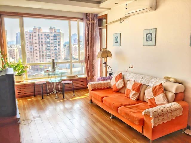 大连北站附近一室一厅60平米温馨小房 - Dalian Shi - Huis